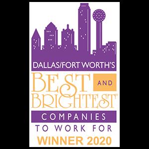 Best Brightest Comanies Dallas Award